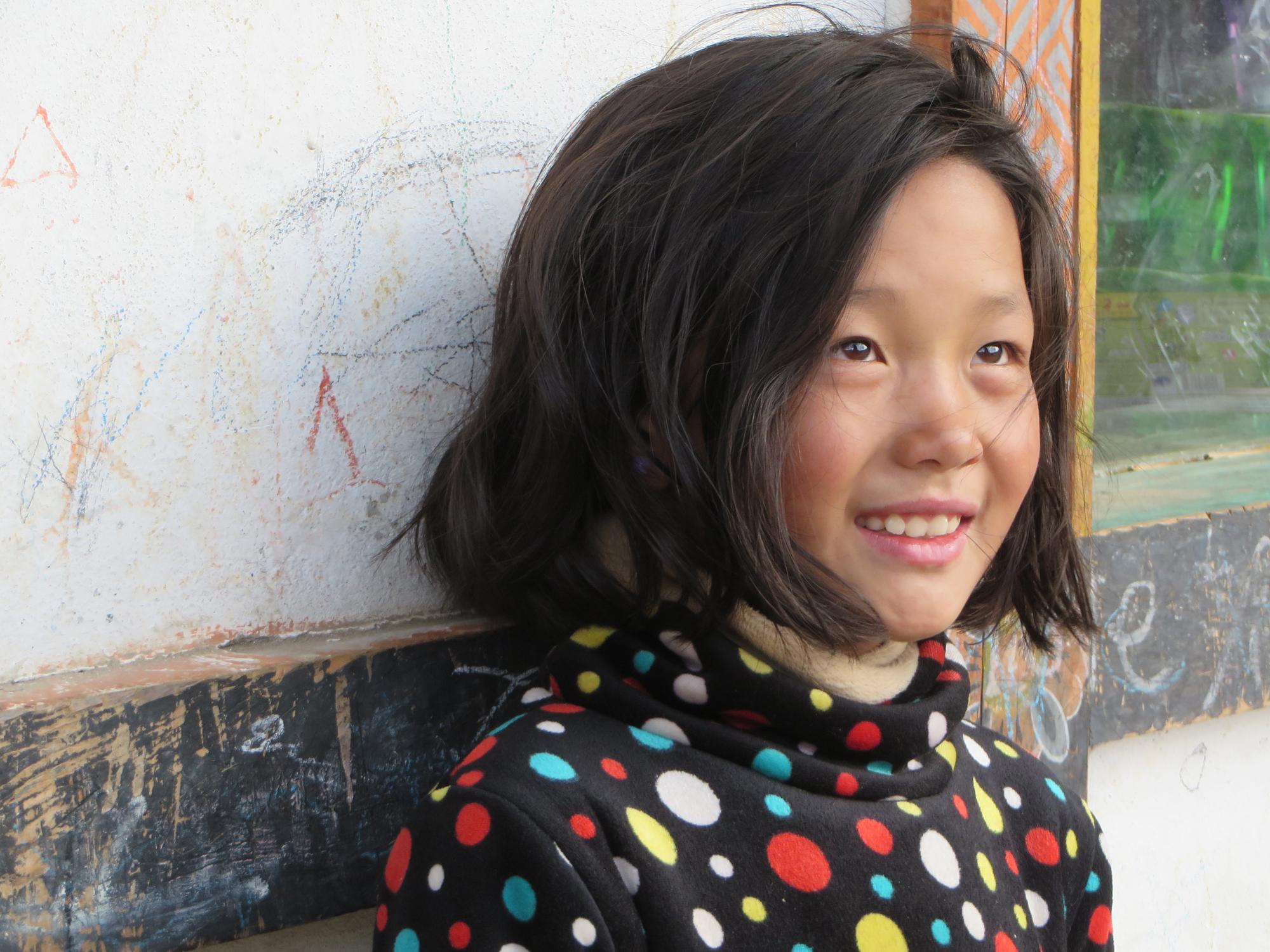 Bumthang girl2