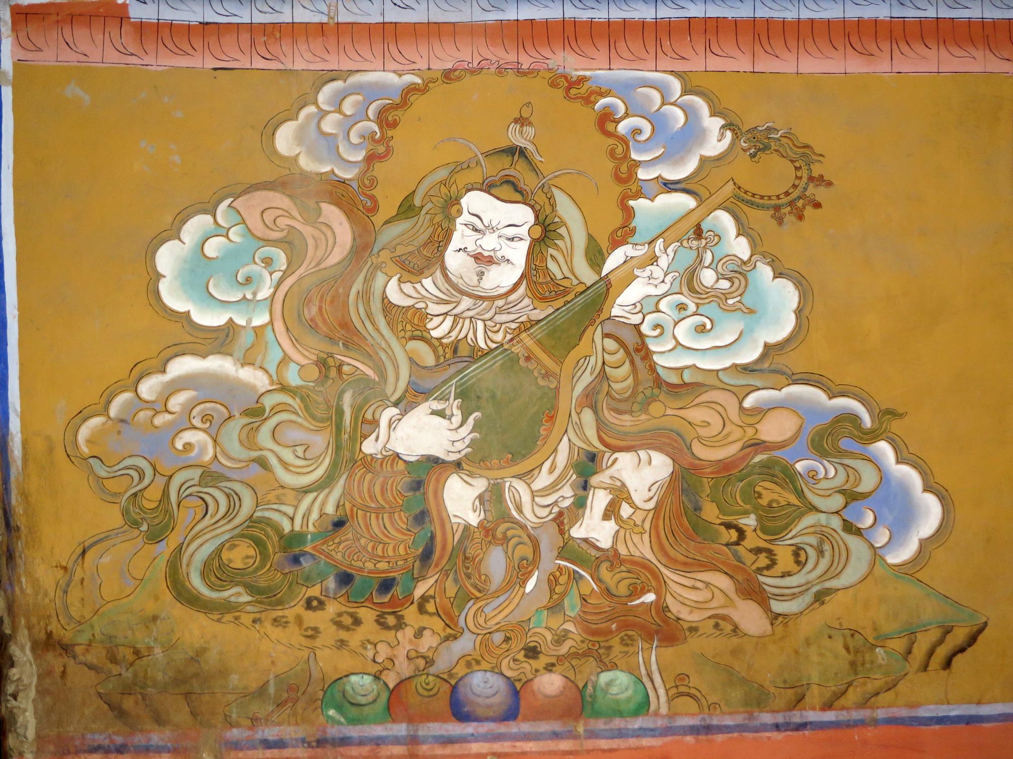 Guru Rinpoche fresco2