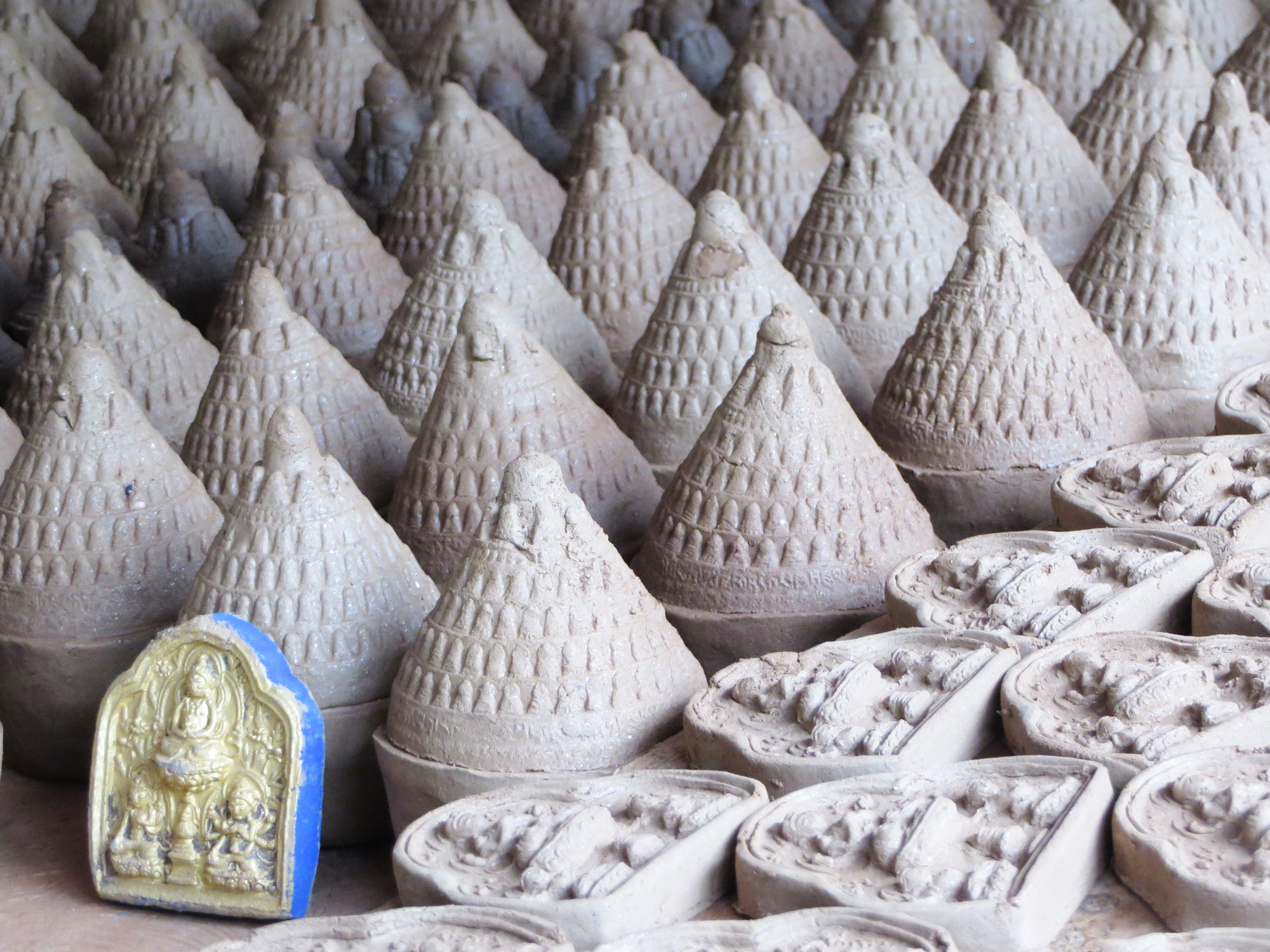 buddha clay figurines2