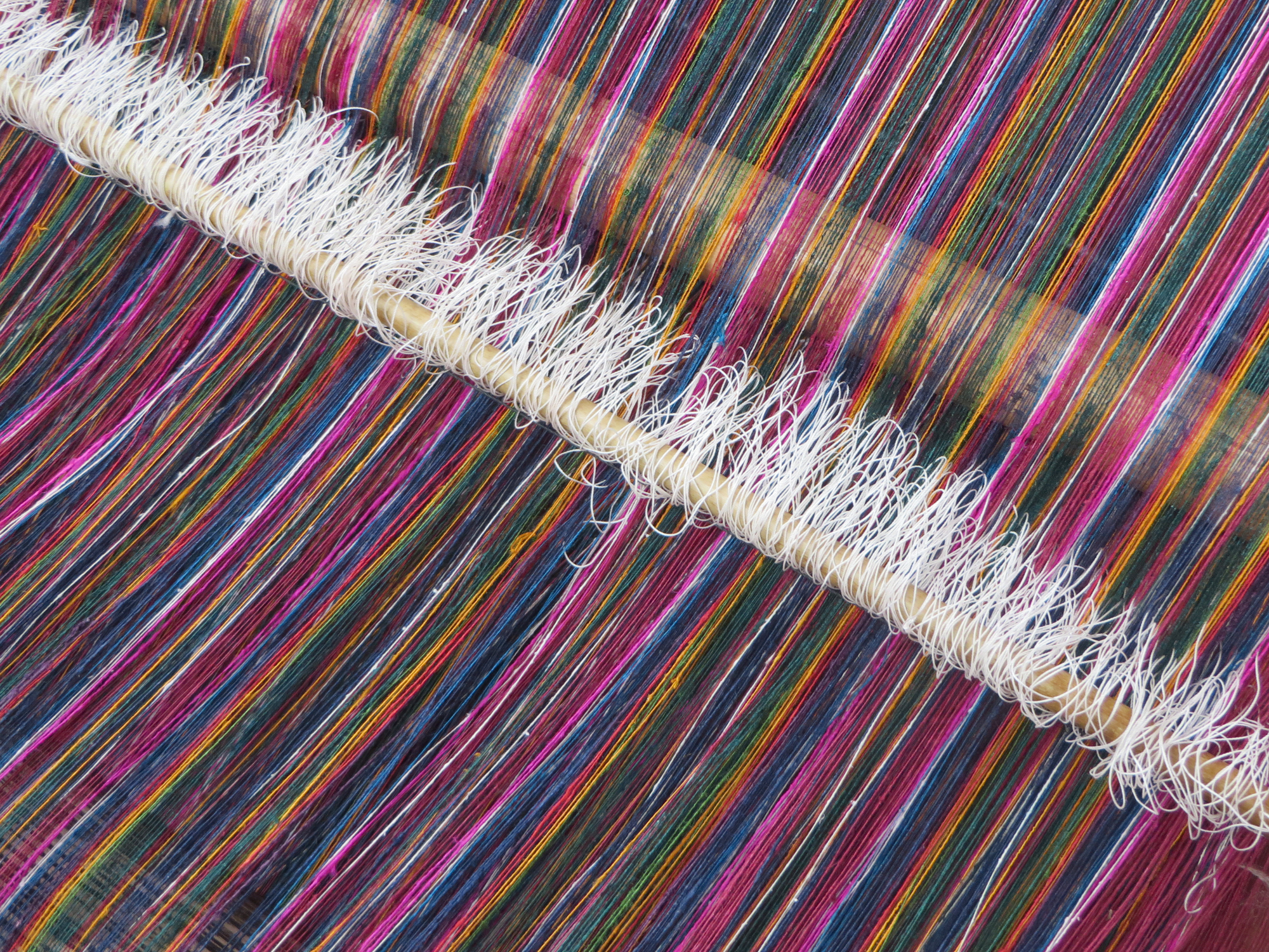 on the loom Weaving2