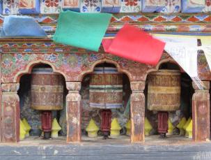Ogyen Choling mini prayer wheels